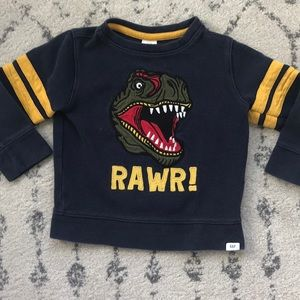 🦖 Gap Dinosaur Sweatshirt for Toddlers